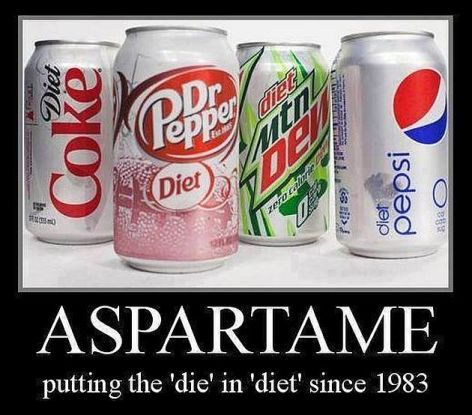 Aspartame Putting The Die In Diet Since 1983