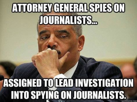 Attorney General Spies On Journalists Assigned To Lead Investigation Into Spying On Journalists