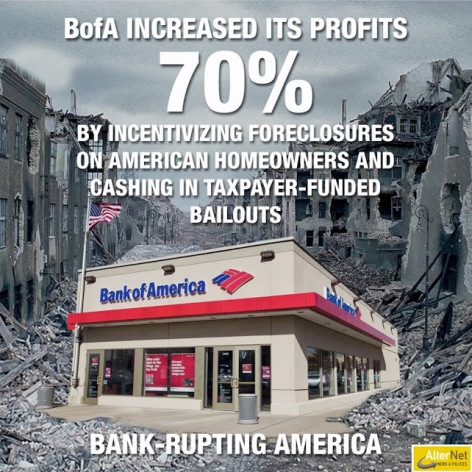 Bank Of America Increased Its Profits