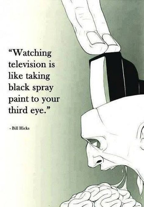 Bill Hicks Watching Television Is