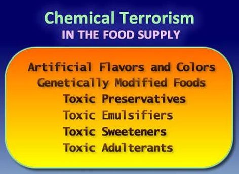 Chemical Terrorism In The Food Supply