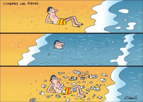 Cuidemos Las Playas Take Care Of The Beaches