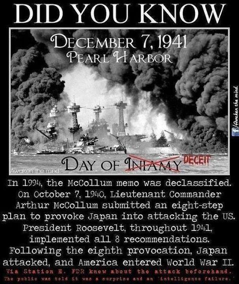 Did You Know December 7, 1941 Pearl Harbor