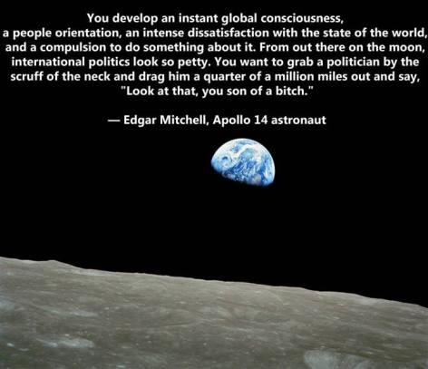 Edgar Mitchell You Develop An Instant
