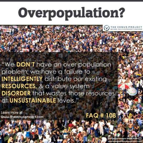 FAQ Over Population We Don't Have An