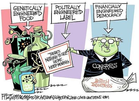 Genetically Engineered Food Politically Engineered Label