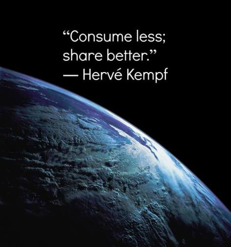 Herve Kempf Consume Less Share Better