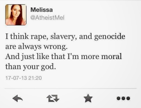 I Think Rape, Slavery, And Genocide