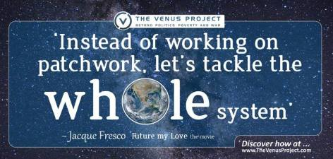 Jacque Fresco Instead Of Working On