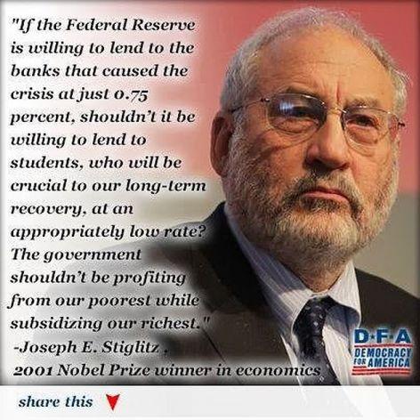 Joseph E Stiglitz If The Federal Reserve