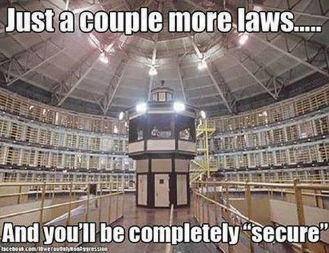 Just A Couple More Laws And You'll Be Completely Secure