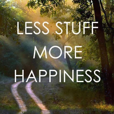 Less Stuff More Happiness