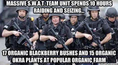 Massive SWAT Team Unit Spends 10 Hours
