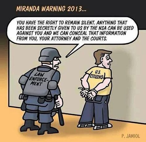 Miranda Warning 2013 You Have The
