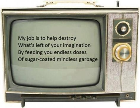 My Job Is To Help Destroy What's Left Of Your Imagination
