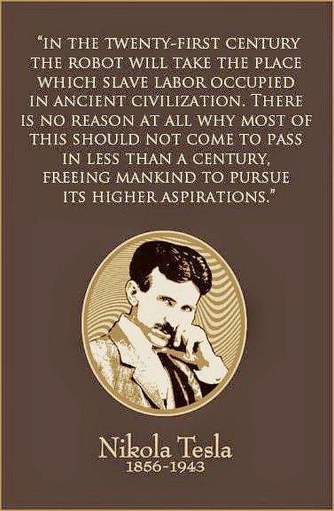 Nikola Tesla In The Twenty-First Century