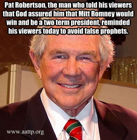 Pat Robertson The Man Who Told His Viewers