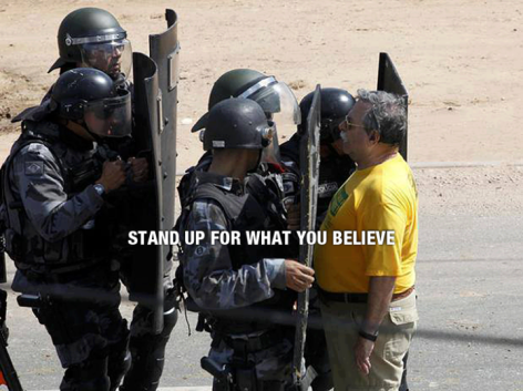 Stand Up For What You Believe