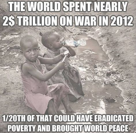 The World Spent Nearly 2 Trillion Dollars