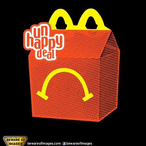 Unhappy Deal Happy Meal