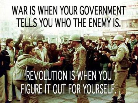 War Is When Your Government Tells