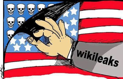 Wikileaks Peek Behind The Flag