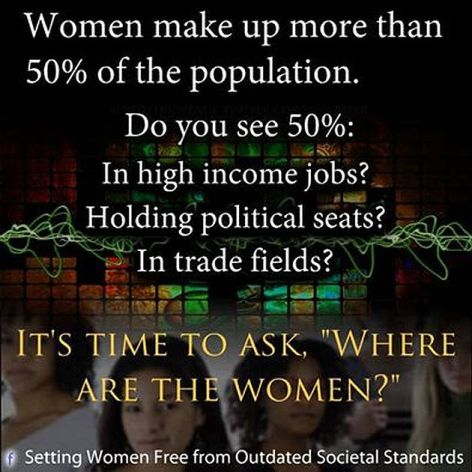 Women Make Up More Than 50% Of The