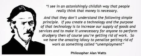 Alan Watts I See In An Astonishingly