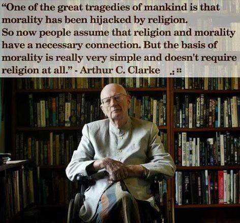 Arthur C Clarke One Of The Great Tragedies