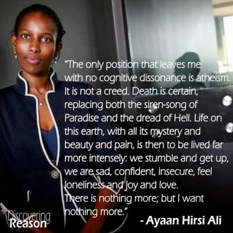 Ayaan Hirsi Ali The Only Position