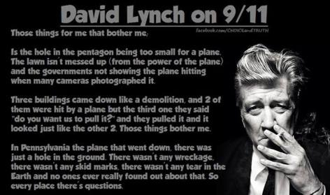 David Lynch On 911