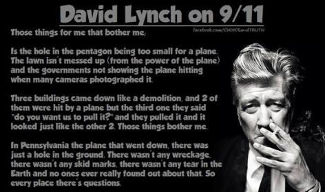 David Lynch On 911