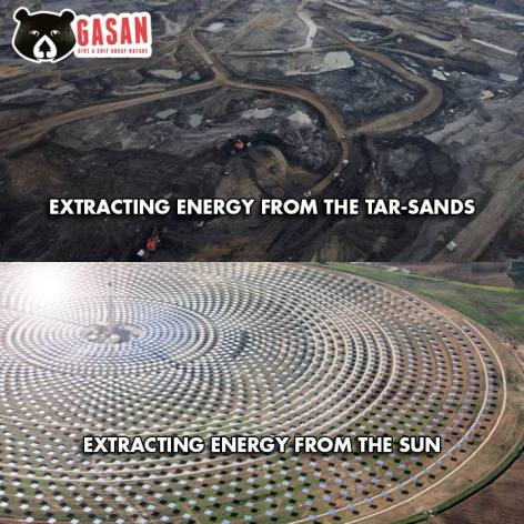 Extracting Energy From The Tar Sands, Sun