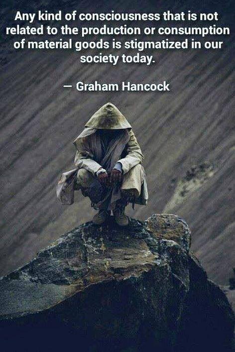 Graham Hancock Any Kind Of Consciousness