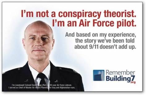 I'm Not A Conspiracy Theorist I'm An Air Force Pilot