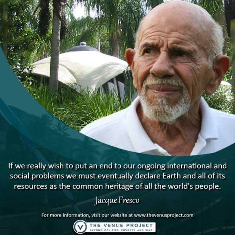 Jacque Fresco If We Really Wish To
