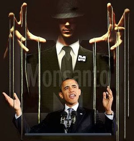 Monsanto Working Obama Like A Puppet