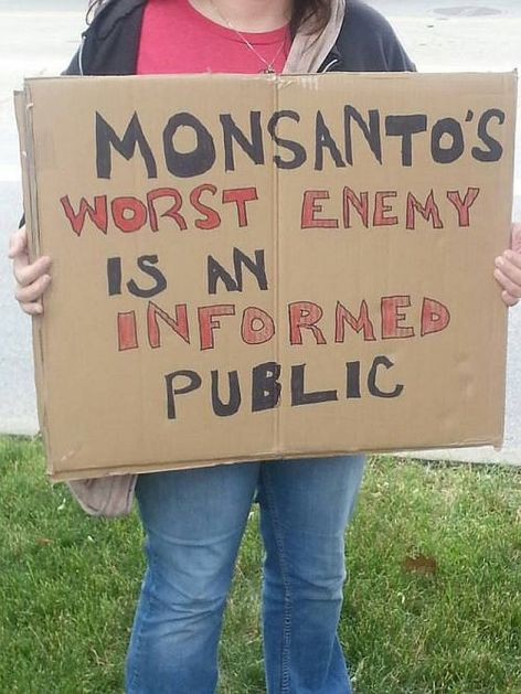 Monsanto's Worst Enemy Is An Informed Public