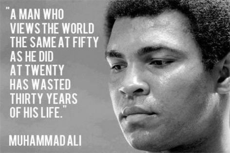 Muhammad Ali A Man Who Views The World