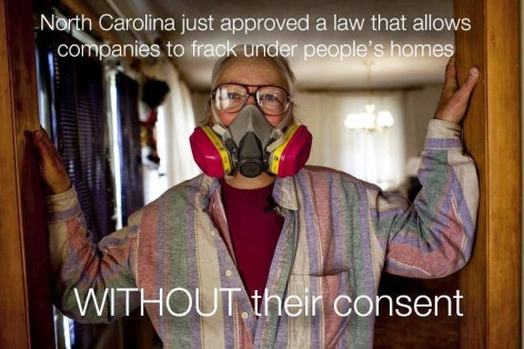 North Carolina Just Approved A Law That Allows Companies To Frack Under People's Homes Without Their Consent