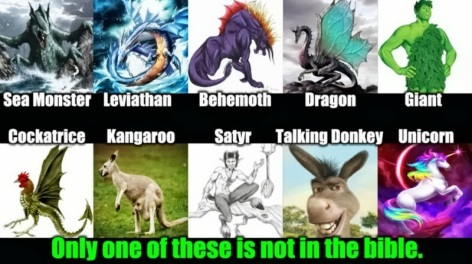 One Of These Is Not In The Bible