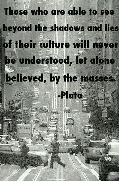 Plato Those Who Are Able To See Beyond