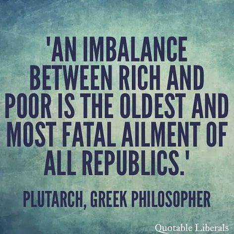 Plutarch An Imbalance Between Rich And Poor