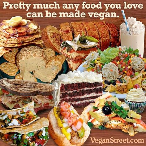 Pretty Much Any Food You Love Can Be Made Vegan