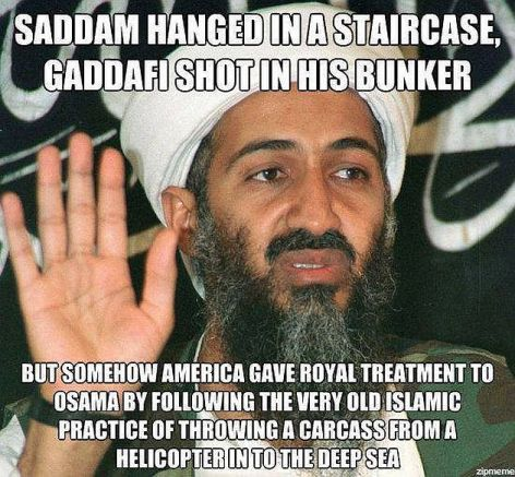 Saddam Hanged In A Staircase Gaddafi Shot In His Bunker