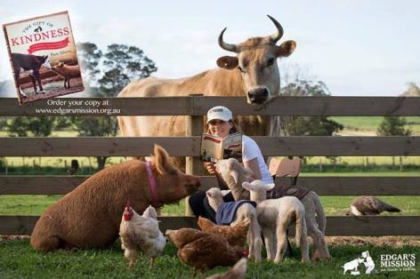 The Gift Of Kindness Inspiring True Stories Of Rescued Farm Animals Pam Ahern Edgar's Mission