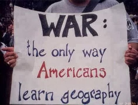 War The Only Way Americans Learn Geography