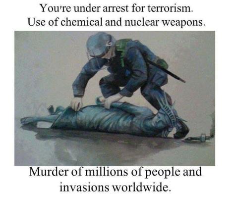 You're Under Arrest For Terrorism