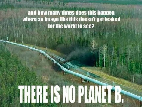 And How Many Times Does This Happen When An Image Like This Doesn't Get Leaked For The World To See There Is No Planet B