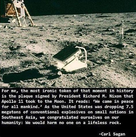 Carl Sagan For Me The Most Ironic